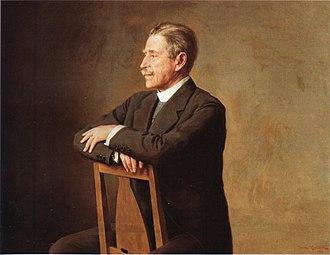 Verner von Heidenstam - Image: Johan Krouthén Porträtt av Verner von Heidenstam