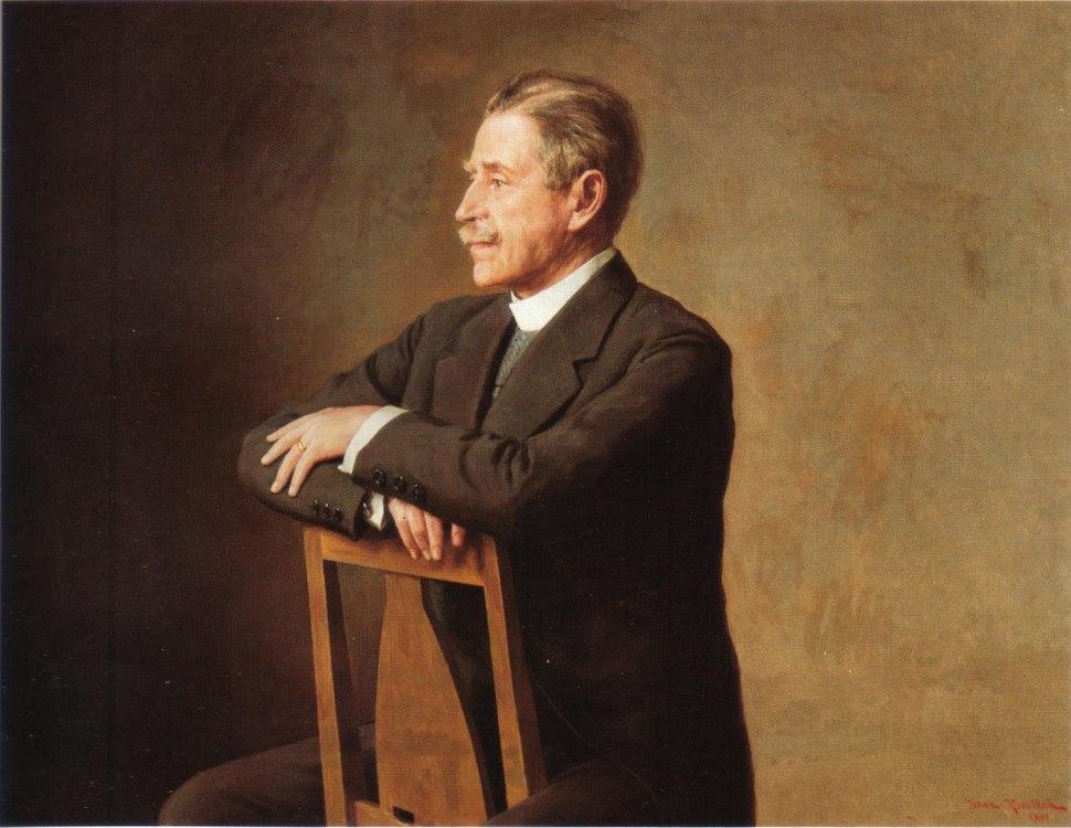 Johan Krouthén - Porträtt av Verner von Heidenstam