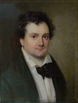 Johann Nestroy - Image: Johann Nestroy