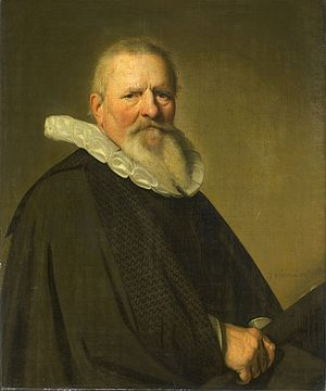 Johannes Cornelisz Verspronck - Image: Johannes Cornelisz Verspronck Portrait of Pieter Jacobsz Schout 1641 SK A 380