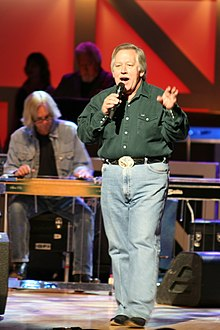 Conlee performing at the Grand Ole Opry in 2007