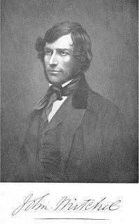 John Mitchel Irish politician (1815–1875)
