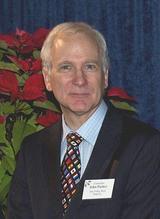 John Parker (Canadian politician) - Parker in 2012