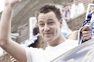 John Terry - Terry celebrating after Chelsea won the 2005–06 Premier League