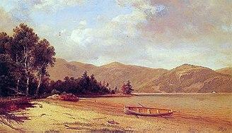 David Johnson (American artist) - Image: Johnson View of Dresden Lake George