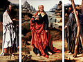 Joos van Cleve - Triptych of Saint Peter, Saint Paul and Saint Andrew (opened).jpg