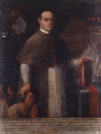 Roman Catholic Diocese of León in Nicaragua - The Most Reverend José Antonio de Flores y Ribera, bishop of Nicaragua between 1753 and 1756.