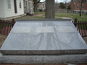 Hyrum Smith - Grave of Joseph, Emma, and Hyrum Smith
