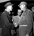 Joseph C. Burger welcomes John N. McLaughlin folowing his release on 5 September 1953.jpg