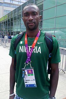 Obinna Metu Nigerian sprinter