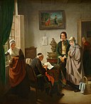 Jozef Geirnaert - Visit at the pastor's.jpg