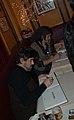 Juanjo Guarnido et Rebecca Dautremer en dédicace, Café du Commerce, Paris 2012 (2).jpg