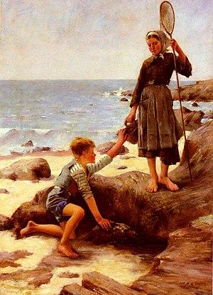 1878 in art - Image: Jules Bastien Lepage Les Enfants Pecheurs
