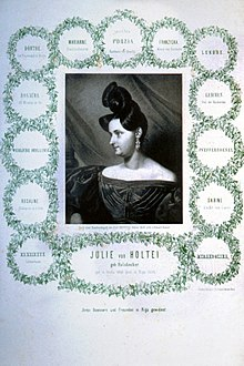 Julie von Holtei (Quelle: Wikimedia)
