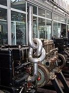 Junkers Motor 2 HK 66 Knotenauspuff Hochhut 16082007