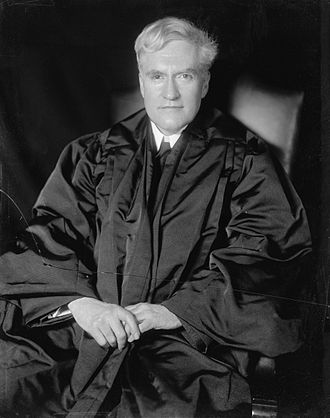 Benjamin N. Cardozo - Justice Cardozo in his robes