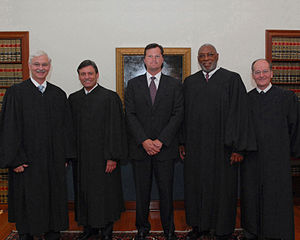 Justice Ricky Polston, Justice Jorge Labarga, ...