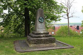 Friedrich Traugott Kützing - Monument to Kützing in Nordhausen