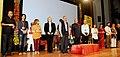 K. Sankaranarayanan felicitated the Jury members, at the inaugural function of the 13th Mumbai International Film Festival for Documentary, Short and Animation (MIFF-2014), in Mumbai. The Secretary.jpg