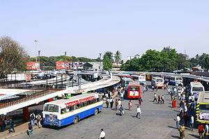 Kempegowda Bus Station - BMTC side of Kempegowda Bus Stand