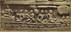 KITLV 40094 - Kassian Céphas - Relief of the hidden base of Borobudur - 1890-1891.jpg
