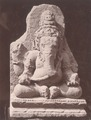 KITLV 87694 - Isidore van Kinsbergen - Sculpture of Ganesha at Wonosobo - Before 1900.tif