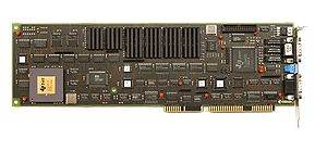 Texas Instruments Graphics Architecture - TIGA Add On card with TI TMS34020.