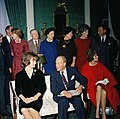 KN-C19647. First Lady Jacqueline Kennedy's Tea for the Special Committee for White House Paintings.jpg