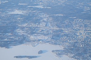 Kaitaa and Matinkylä from air.jpg
