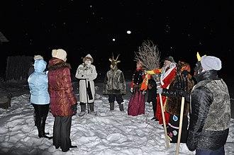 Christmas carol - Christmas carols in Russia (Belgorod Oblast, 2012)