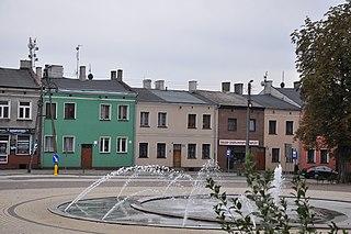 Żychlin Place in Łódź Voivodeship, Poland
