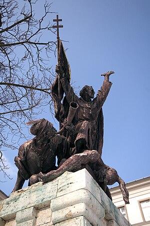 John of Capistrano - Image: Kapisztran statue, Budapest