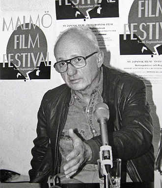Karel Kachyňa - Karel Kachyňa during a visit of the Malmö Film Festival, 1990