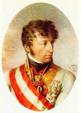 Franz Joseph, Count Kinsky - Both Kinsky and Archduke Charles (shown here) failed to support the Duke of York.