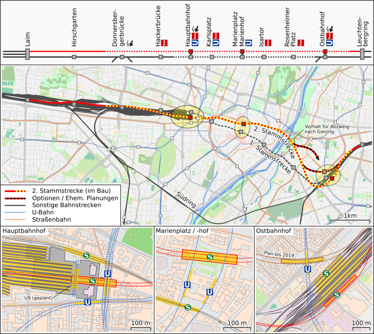 S Bahn Karte München.Trunk Line 2 Munich S Bahn Wikipedia