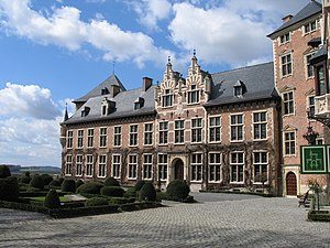 René de Renesse, 1st Count of Warfusée - Inner Court of Gaasbeek Castle