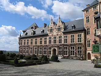 René de Renesse, 1st Count of Warfusée - Inner Court of Gaasbeek Castle