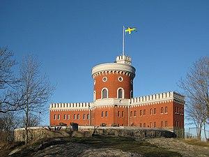 Castle on Kastellholmen (Stockholm, Sweden)