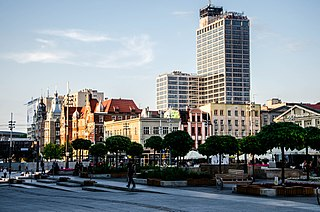 Katowice Place in Silesian Voivodeship, Poland