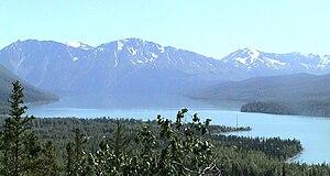 Kenai Mountains - The Kenai Mountains and River