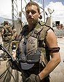 Kenton Roberts at Kirtland AFB during filming of Terminator Salvation 2008-07-18.jpg