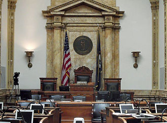 Kentucky Senate - Image: Kentucky Senate chamber