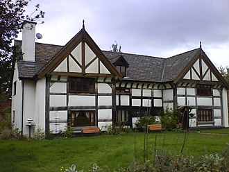 City of Salford - Kersal Cell, built in the 16th century, was a manor house built on the site of a Cluniac priory.