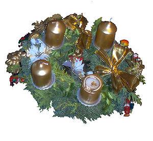 Advent wreath - Image: Kerstkrans