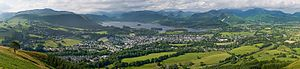 The Tale of Benjamin Bunny - Image: Keswick, Cumbria Panorama 1 June 2009
