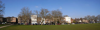 Kew Green - Image: Kew Green panorama 661 3 Hugin b