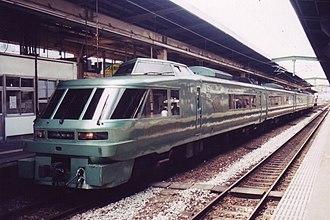 Yufuin no Mori - Image: Ki Ha 183 1000 Yufuin no Mori II Hakata 19980700