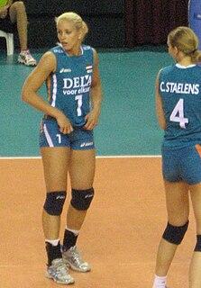 Kim Staelens Volleyball player