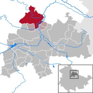 Kindelbrück - Image: Kindelbrück in SÖM