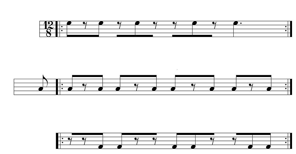 King correct cross-rhythm